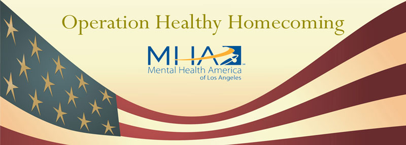 Operation Healthy Homecoming, Antelope Valley Enrichment Services, Mental Health America of Los Angeles